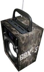 AUDIOBOX BBX5CAMO BLUETOOTH SPEAKER WITH MULTIPLE INPUT  FM RADIO ARMY