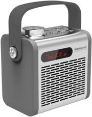 SONICGEAR PANDORA 300 PORTABLE BLUETOOTH SPEAKER SILVER τηλεπικοινωνίες   ηχεία