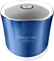creative woof3 micro sized bluetooth mp3 flac speaker spring crystallite photo