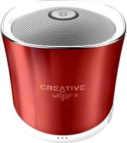 creative woof3 micro sized bluetooth mp3 flac speaker summer rouge photo
