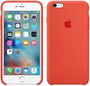 apple mkxq2 silicon case for iphone 6s plus orange photo