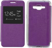 s view flexi with window for samsung galaxy j500 violet photo