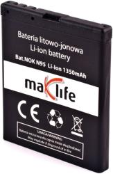 maxlife battery for nokia n95 1350mah li ion photo