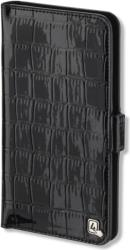 4smarts ultimag wallet laneway 58 shiny croco black universal photo