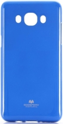 mercury jelly case for samsung j5 510 2016 blue photo