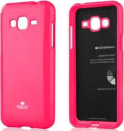 mercury jelly case for samsung j3 2016 hot pink photo