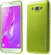 mercury jelly case for samsung j7 2016 lime photo