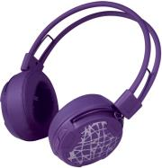 arctic p604 wireless on ear street bt headset purple photo