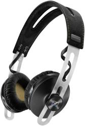 sennheiser momentum on ear wireless headphones with integrated mic black photo