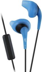 jvc ha enr15 a e gumy sport ear bud with mic remote blue photo
