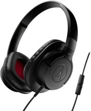 audio technica ath ax1is sonicfuel over ear headphones for smartphones black photo