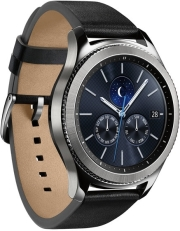 SAMSUNG GEAR S3 CLASSIC R770 SILVER BLACK τηλεπικοινωνίες   smart watches