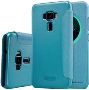 NILLKIN SPARKLE FLIP CASE FOR ASUS ZENFONE 3 ZE520KL BLUE τηλεπικοινωνίες   θήκες