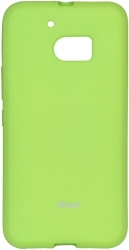 ROAR COLORFUL JELLY CASE FOR HTC M10 LIME τηλεπικοινωνίες   θήκες