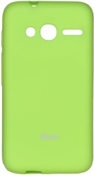 ROAR COLORFUL JELLY CASE FOR ALCATEL ONE TOUCH PIXI 4 (4) LIME τηλεπικοινωνίες   θήκες