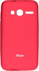 ROAR COLORFUL JELLY CASE FOR ALCATEL ONE TOUCH PIXI 4 (4) HOT PINK τηλεπικοινωνίες   θήκες