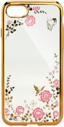 FORCELL DIAMOND CASE FOR APPLE IPHONE 7 PLUS (5,5) GOLD τηλεπικοινωνίες   θήκες