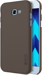NILLKIN FROSTED TPU BACK COVER CASE FOR SAMSUNG GALAXY A3 2017 BROWN τηλεπικοινωνίες   θήκες