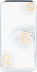 BEEYO FLOWER BACK COVER CASE DOTS FOR APPLE IPHONE 6 PLUS SILVER τηλεπικοινωνίες   θήκες