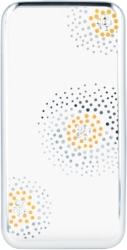 BEEYO FLOWER BACK COVER CASE DOTS FOR HUAWEI Y6 II SILVER τηλεπικοινωνίες   θήκες