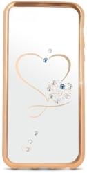 BEEYO HEART BACK COVER CASE FOR LENOVO K6 GOLD τηλεπικοινωνίες   θήκες
