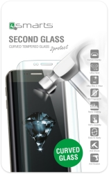 4SMARTS SECOND GLASS CURVED CASE FRIENDLY FOR SAMSUNG GALAXY S8+ CLEAR τηλεπικοινωνίες   προσόψεις   προστατευτικά οθόνης
