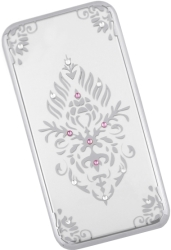 BEEYO FLORAL BACK COVER CASE FOR SAMSUNG GALAXY S8 G950 SILVER τηλεπικοινωνίες   θήκες