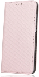 FLIP CASE SMART MAGNET FOR SAMSUNG GALAXY G900 S5 ROSE GOLD τηλεπικοινωνίες   θήκες