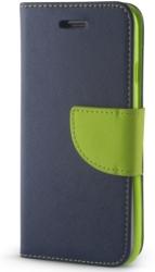 FLIP CASE SMART FANCY FOR HUAWEI Y7 BLUE/GREEN τηλεπικοινωνίες   θήκες
