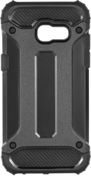 FORCELL ARMOR BACK COVER CASE FOR SAMSUNG GALAXY A3 2017 BLACK τηλεπικοινωνίες   θήκες
