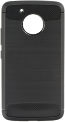 FORCELL CARBON BACK COVER CASE FOR LENOVO MOTO G5 BLACK τηλεπικοινωνίες   θήκες
