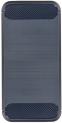 FORCELL CARBON BACK COVER CASE FOR LENOVO K6 NOTE GREY τηλεπικοινωνίες   θήκες