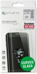 4SMARTS SECOND GLASS CURVED COLOUR FRAME FOR APPLE IPHONE X WHITE τηλεπικοινωνίες   προσόψεις   προστατευτικά οθόνης