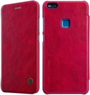 NILLKIN QIN LEATHER FLIP CASE FOR HUAWEI P10 LITE RED τηλεπικοινωνίες   θήκες