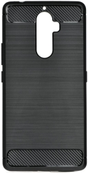 FORCELL CARBON BACK COVER CASE FOR LENOVO K8 NOTE BLACK τηλεπικοινωνίες   θήκες