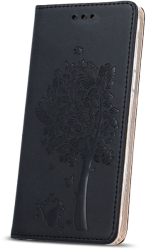 FLIP CASE SMART STAMP TREE FOR SONY XPERIA E5/SM30 BLACK τηλεπικοινωνίες   θήκες