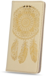 FLIP CASE SMART STAMP DREAMCATCHER FOR SONY XPERIA E5/SM30 GOLD τηλεπικοινωνίες   θήκες
