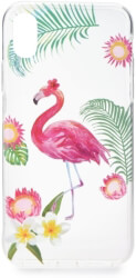 FORCELL SUMMER FLAMINGO BACK COVER CASE FOR SAMSUNG GALAXY A6 PLUS 2018 τηλεπικοινωνίες   θήκες