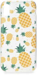 FORCELL SUMMER PINEAPPLE BACK COVER CASE FOR HUAWEI Y6 PRIME 2018 τηλεπικοινωνίες   θήκες