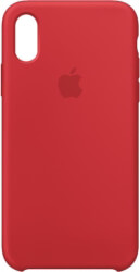 APPLE MRWC2ZM/A IPHONE XS SILICONE CASE (PRODUCT) RED τηλεπικοινωνίες   θήκες