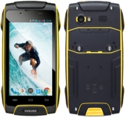 kinito evolveo strongphone q8 lte dual sim black yellow photo