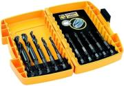 set 10 tem dewalt trypania impact f3 12mm dt70500b photo