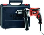 drapano kroystiko ilektriko black decker 13mm 750watt auto me kasetina kr705k photo