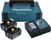 battery set makita 18v li ion 2x batteries 50ah fortistis makpac balitsa 197624 2 photo