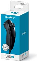 wii u nunchuck black photo