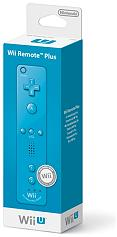 wii u remote plus blue photo