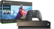 XBOX ONE X CONSOLE 1TB & GOLD RUSH SPECIAL EDITION BATTL...